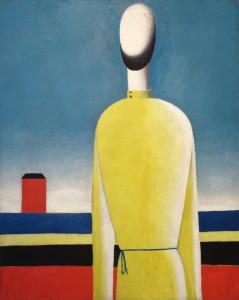 Kazimir Malevich, Een ingewikkeld voorgevoel (Torso in een geel shirt), circa 1932