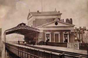 Johann Hameter, Station bij de Beurs (1877)