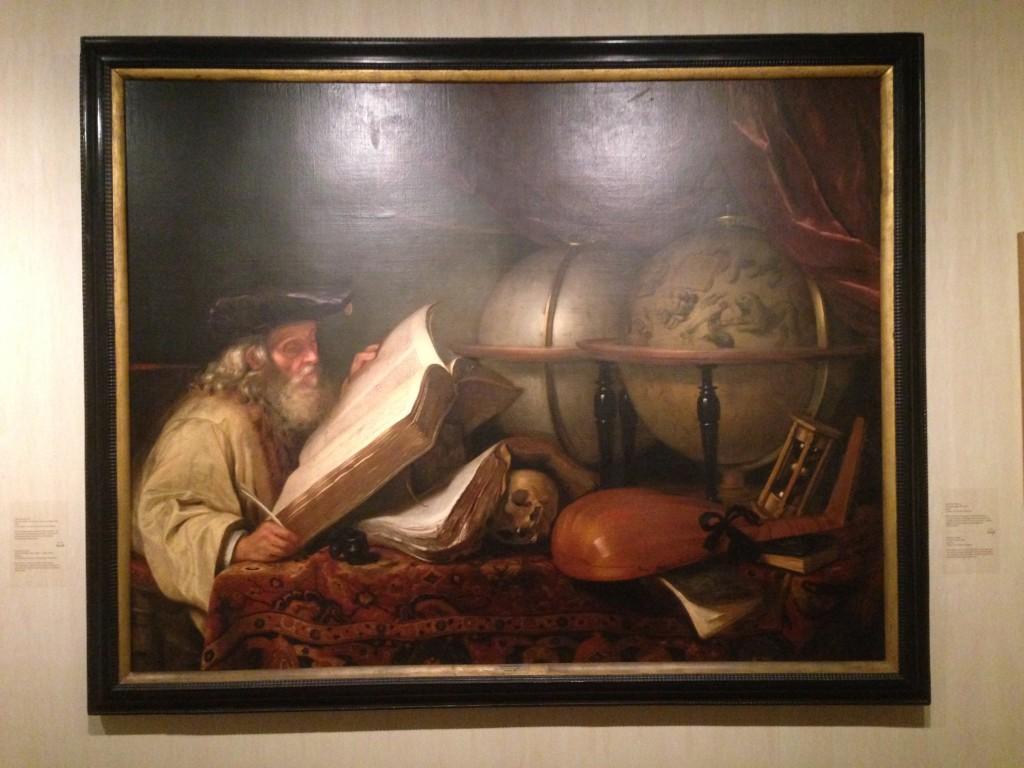 Oude geleerde, Godfrey Kneller