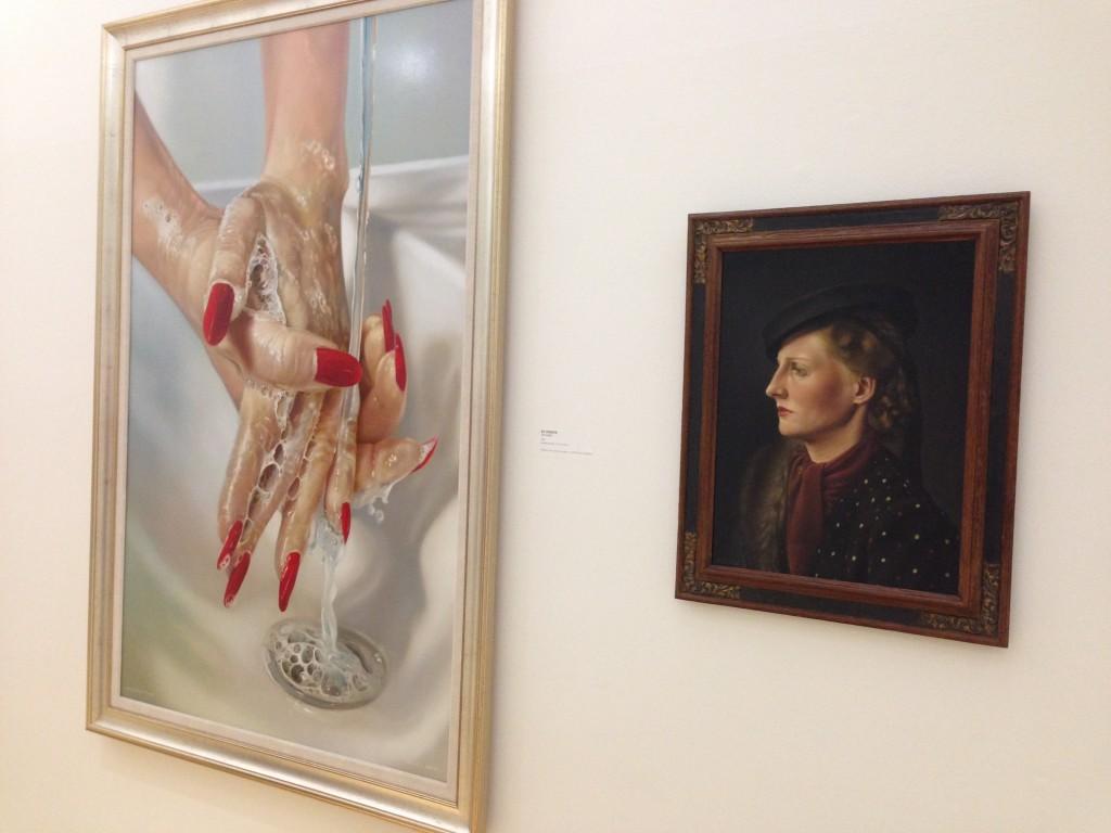 handen en portret van wilma