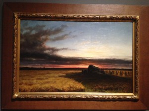 Laatste zonnegloed (Hunnebed te Noordsleen), Hendrik Dirk Kruseman van Elten (1860)