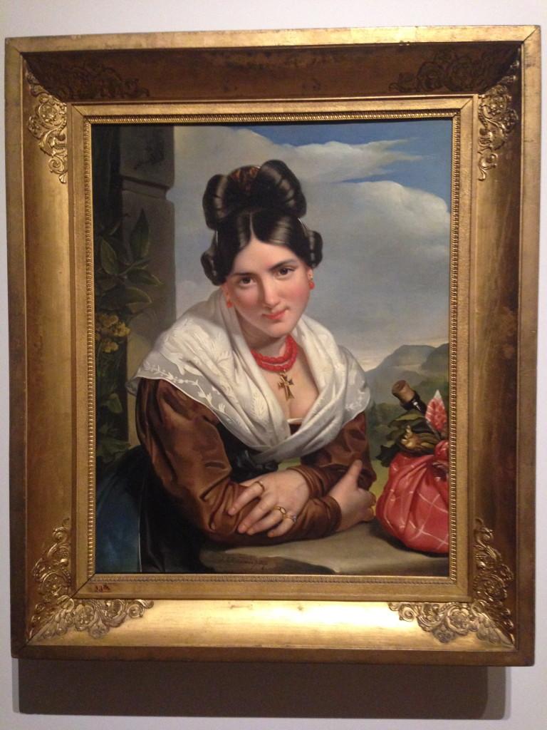 Rustend Meisje, Jan Adam Kruseman (1827)