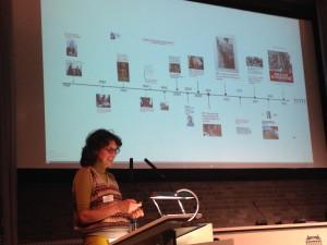 Scagliola legt uit hoe de Nederlandse geschiedschrijving over het conflict zich heeft ontwikkeld