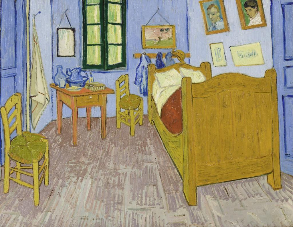 De slaapkamer, 1888 (Van Gogh Museum, Amsterdam)