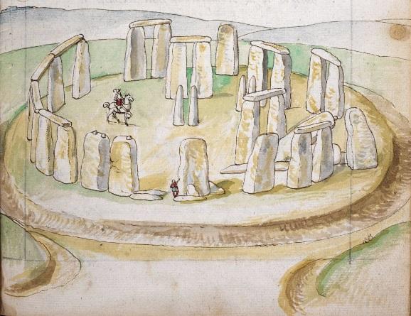 Stonehenge, Corte Beschryvinghe folio 36 recto, ©British Library