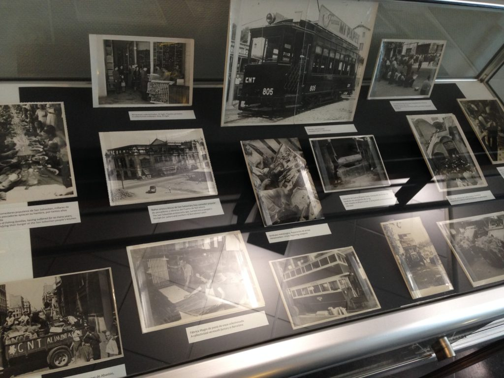 Mini-expositie in het IISG met foto's uit de CNT-archieven