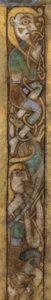 Detail van folio 2r van het Boek van Kells