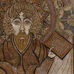 Detail van folio 291v van het Boek van Kells