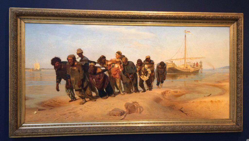 Ilya Repin, Wolgaselpers (1870-1873)