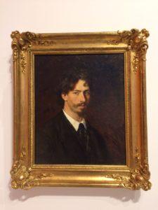 Ilya Repin, Zelfportret (1878)