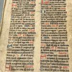 Bijbel uit de tweede helft van de veertiende helft, Littera textualis